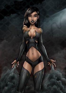 Darkrae Superhero