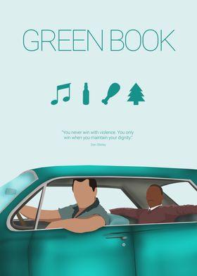 Green Book Minimal Movie