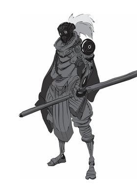 Gray Katana