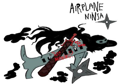 APR19: Airplane Ninja