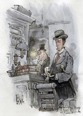 Art of Sherlock Crowley