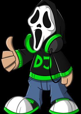 DJDaMaskottchen Black