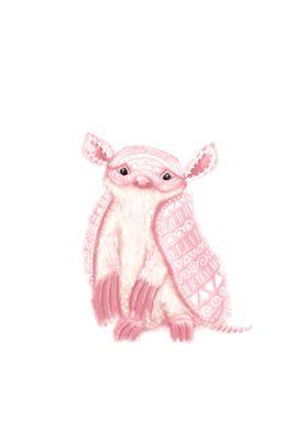 Pink Fairy Armadillo