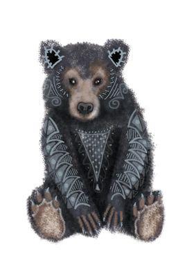 Tribal Bear Sprit Animal