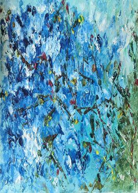 Blossoms  Blue