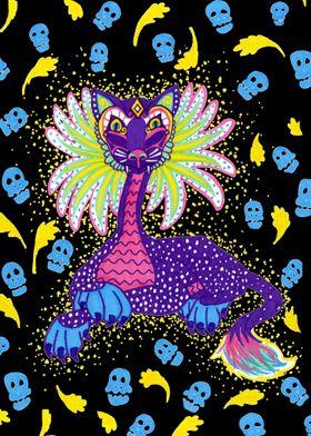 Mexican Cat Alibrije