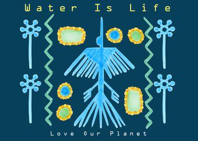 Water Is Life Horizontal
