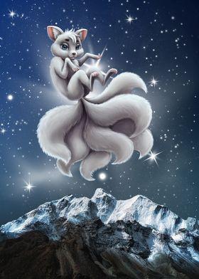 Kitsune the 7 tails fox