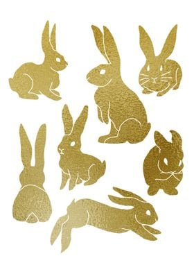 Golden Bunnies