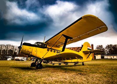 Antonov AN2 Biplane plane