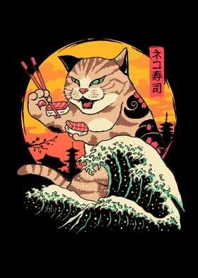 Neko Sushi Wave
