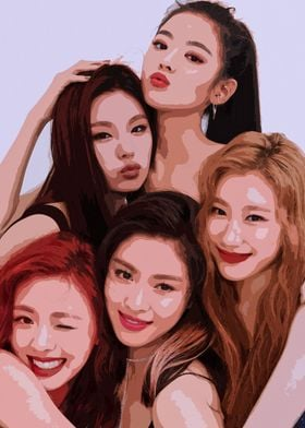 ITZY Group Picture