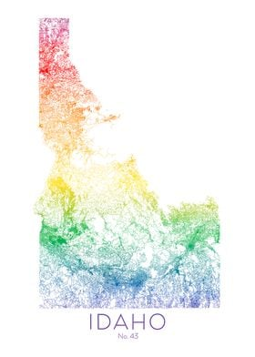 Idaho State Map