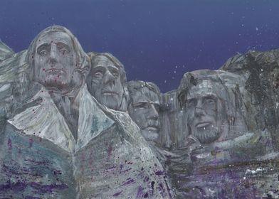 Rushmore mixed media