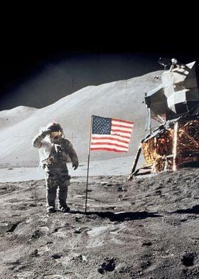 Moon Landing Salute