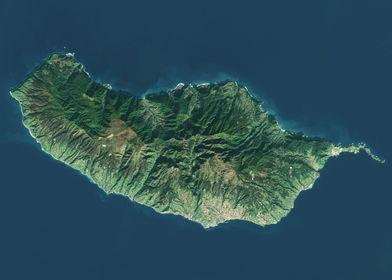 Maderia Satellite Map