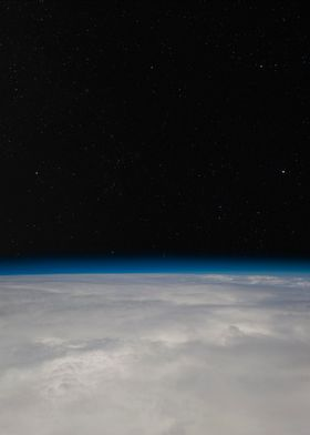 Space from above the cloud