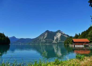 Lake Walchensee mountain