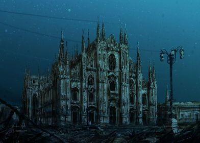 Milan Cathedral sea