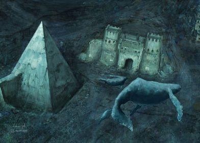 Pyramid of Cestius sea