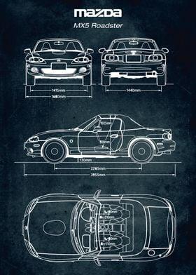 No135 Mazda MX5 Roadster