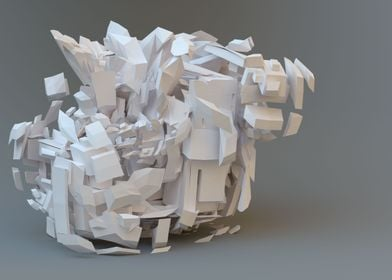 Abstract 3D Fractal 09