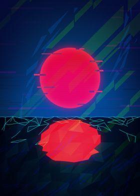 Sci Fi Sunset