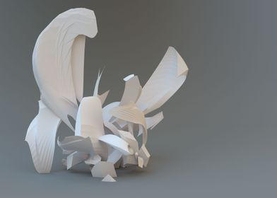 Abstract 3D Fractal 01