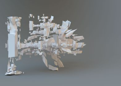 Abstract 3D Fractal 04