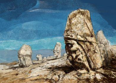 Nemrut painting