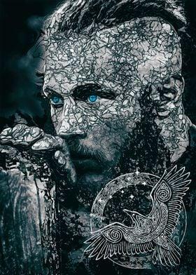 Viking Ragnar the king