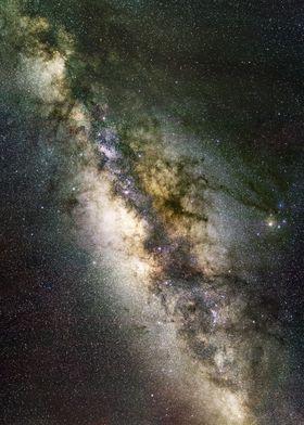 High Resolution Milky Way