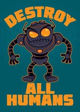 Destroy All Humans Robot