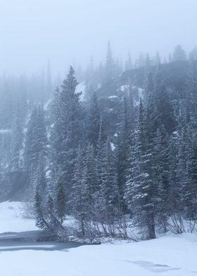 Frosty Rocky Mountains