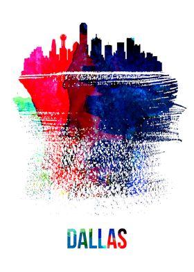 Dallas Watercolor