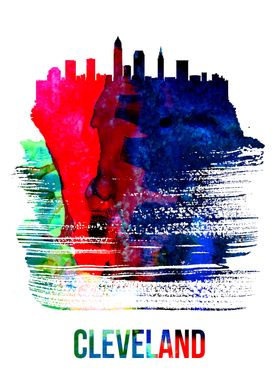 Cleveland Watercolor