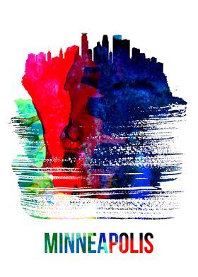 Minneapolis Watercolor