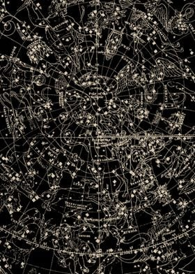 Stars Constellations Map