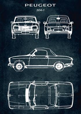 No195 Peugeot 304 1