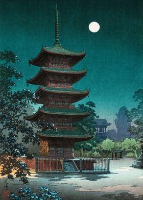 Japanese night scene