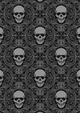 Skull Pattern 1