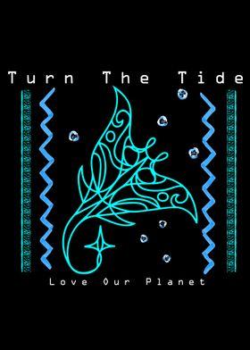 Turn The Tide Manta Ray
