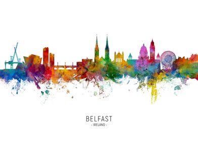 Belfast Skyline Custom