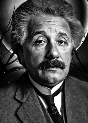 art Albert Einstein