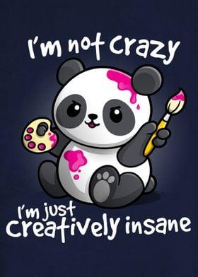 Creative insane Panda