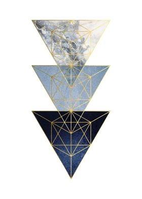 3 Minimalist Triangles