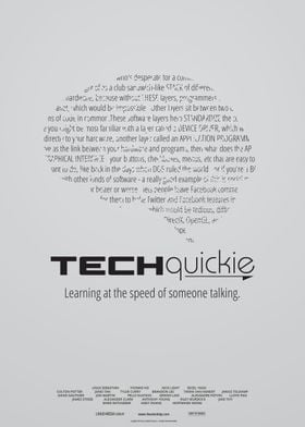 Techquickie Poster