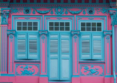 Peranakan Shophouse
