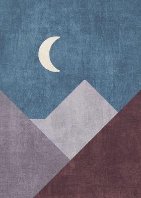 Mountains Night
