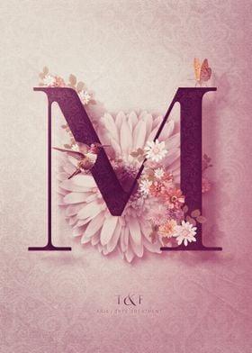 Aria Alphabet Letter M